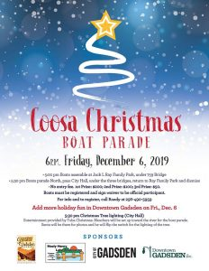 Coosa Christmas Boat Parade @ Riverwalk at Coosa Landing