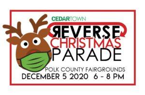 Cedartown REVERSE Christmas Parade @ Polk County Fairgrounds