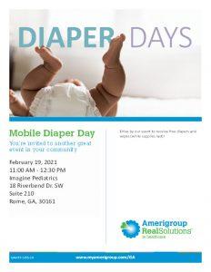 Mobile Diaper Day @ Imagine Pediatrics