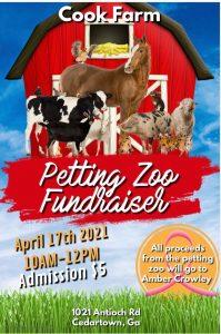 Cook Farm Petting Zoo Fundraiser @ Cook Farm